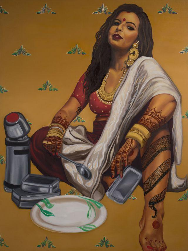 Serving Looks, Not Nashtha.(Nimisha Bhanot/Banga Studios)