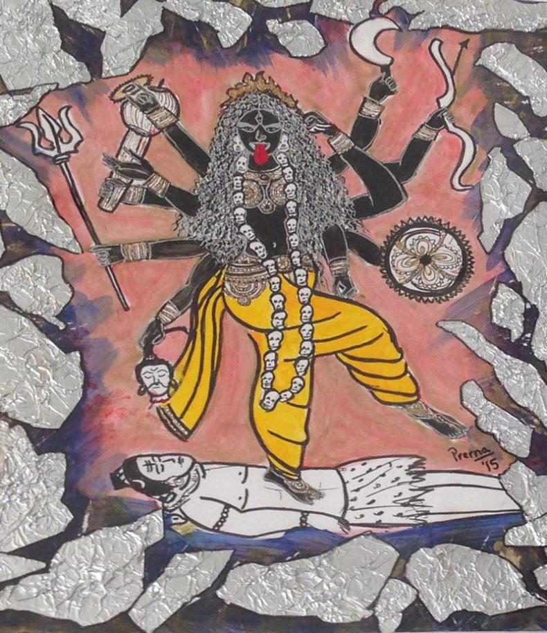 """Goddess Kali"" by artist and survivor Prerna"
