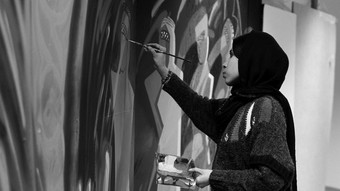 'Art Is Stronger Than War': An Interview With Afghanistan's First Female Street Artist