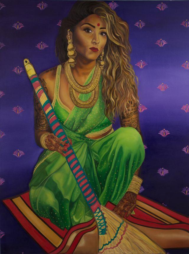 Sweeping Patriarchy Under The Rug.(Nimisha Bhanot/Banga Studios)