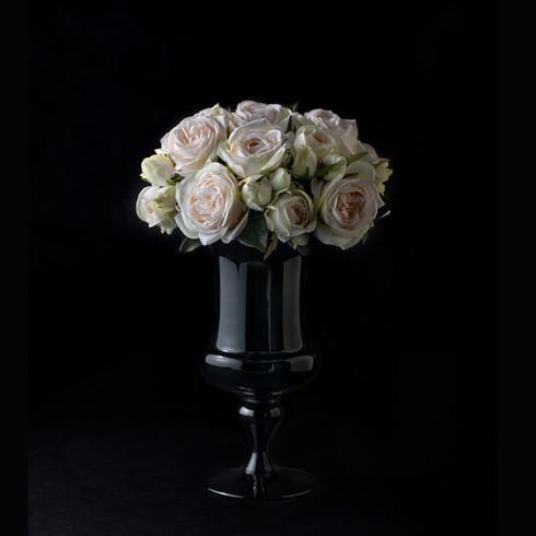 23. Art flower rose