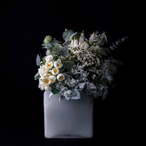 4. Preserved + Art flower bouquet