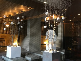 Christmas Display at HOTEL NAGOYA CASTLE