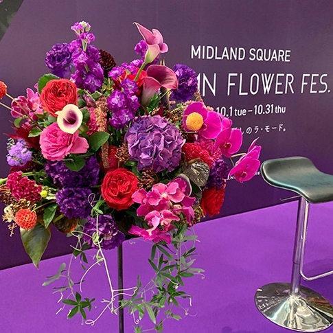 イベントでの装花