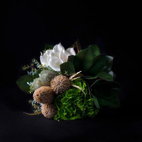 20. Art flower bouquet