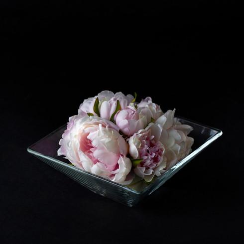 9. Art flower + vase