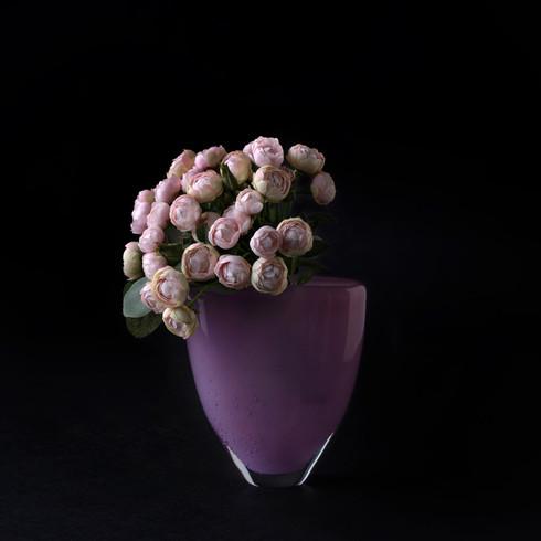2. Rose art flower bouquet