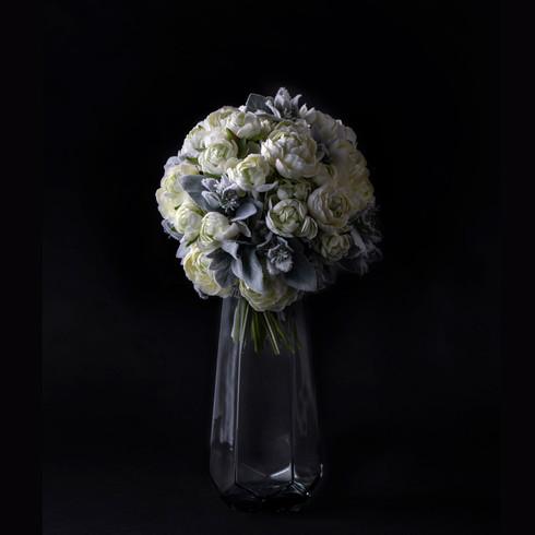 15. Art flower bouquet