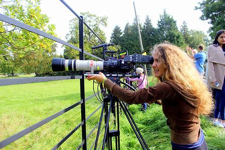 Wildlife filmmaking Tania Esteban