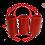 Thumbnail: Shadow Overflow External Pipe Kit 1.5″ PVC (RED)