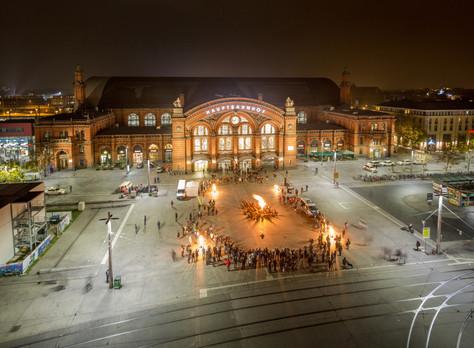 Bremer Hauptbahnhof im neuen Licht