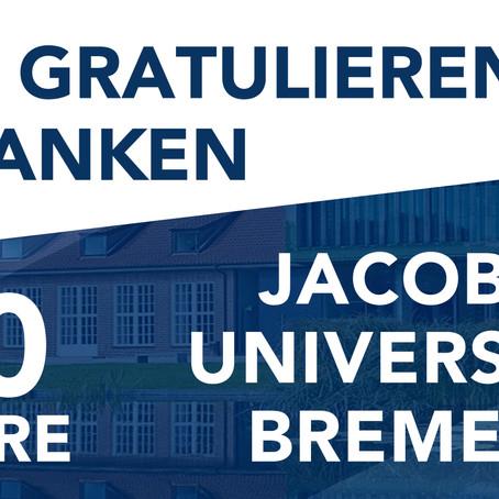 BREMEN KOMMT gratuliert der Jacobs University Bremen