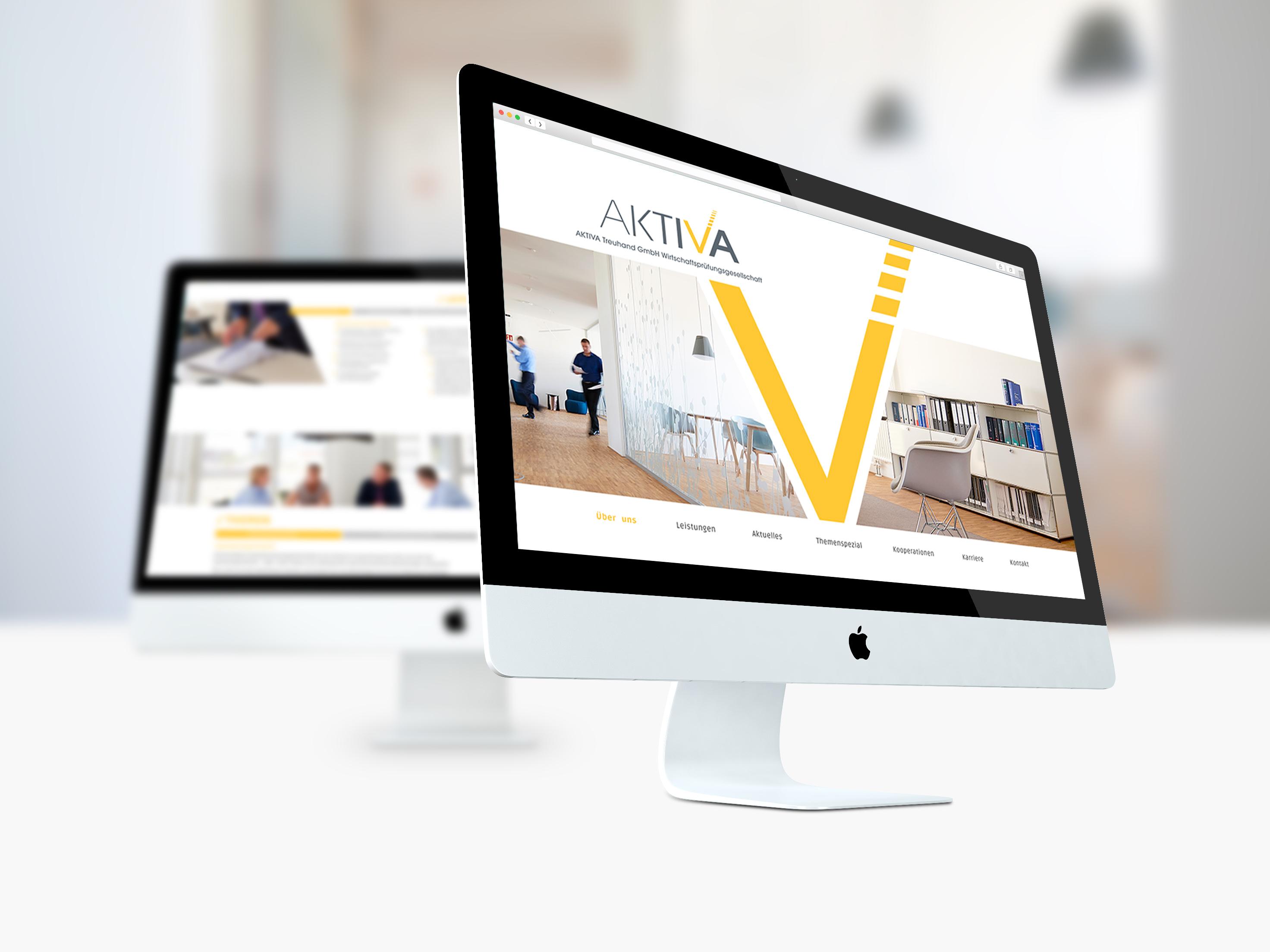 AKTIVA Relaunch