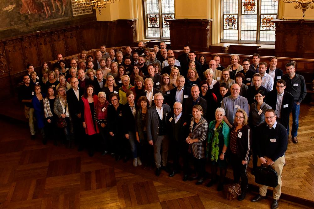 Fachgruppentreffen Groningen-Oldenburg-Bremen von Bürgermeisterin Karoline Linnert eröffnet