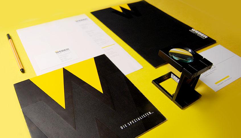 Corporate Design WEBER