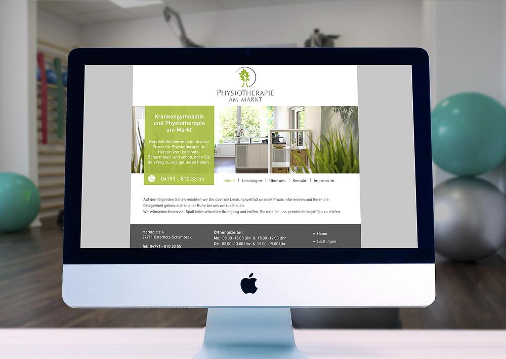 Webdesign Physiotherapie OHZ