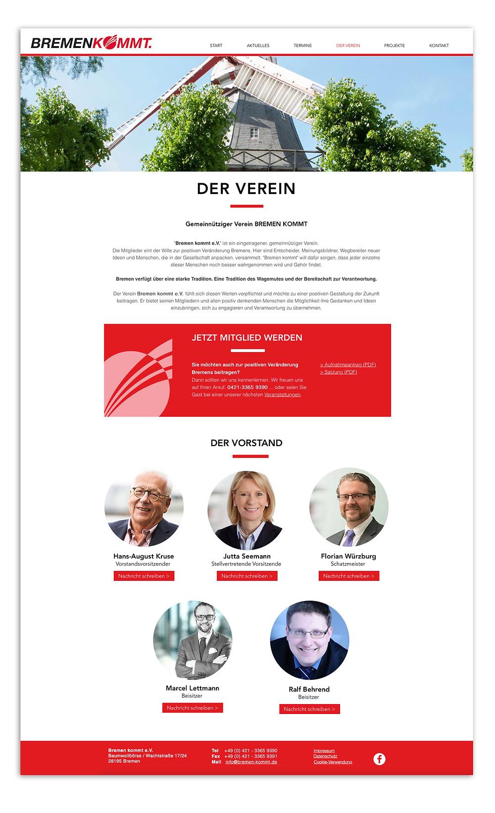 Webrelaunch Bremen kommt