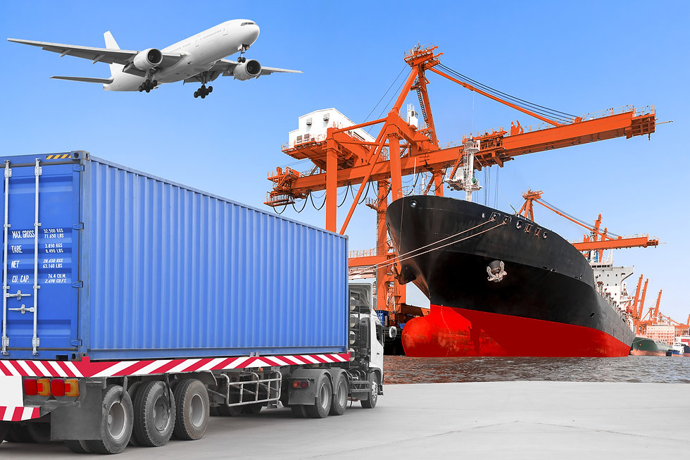 Commercial delivery cargo container truc