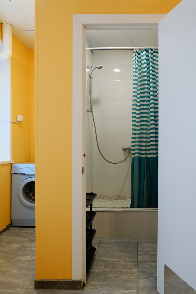 ОТП.Душ дверь + стиральная машина