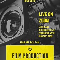Film Production Workshop flyer