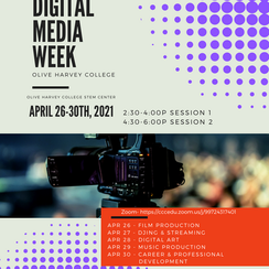 Digital Media Week Flyer
