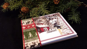 Christmas Card Set (6) - Various Holiday Greetings Inside