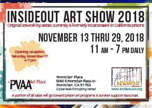 """November 2018 """"Making Amends"""" InsideOut Art Show"""