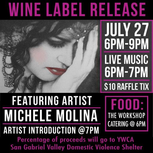 "July 2019 ""Rosy Cheeks Wine Label Release"""