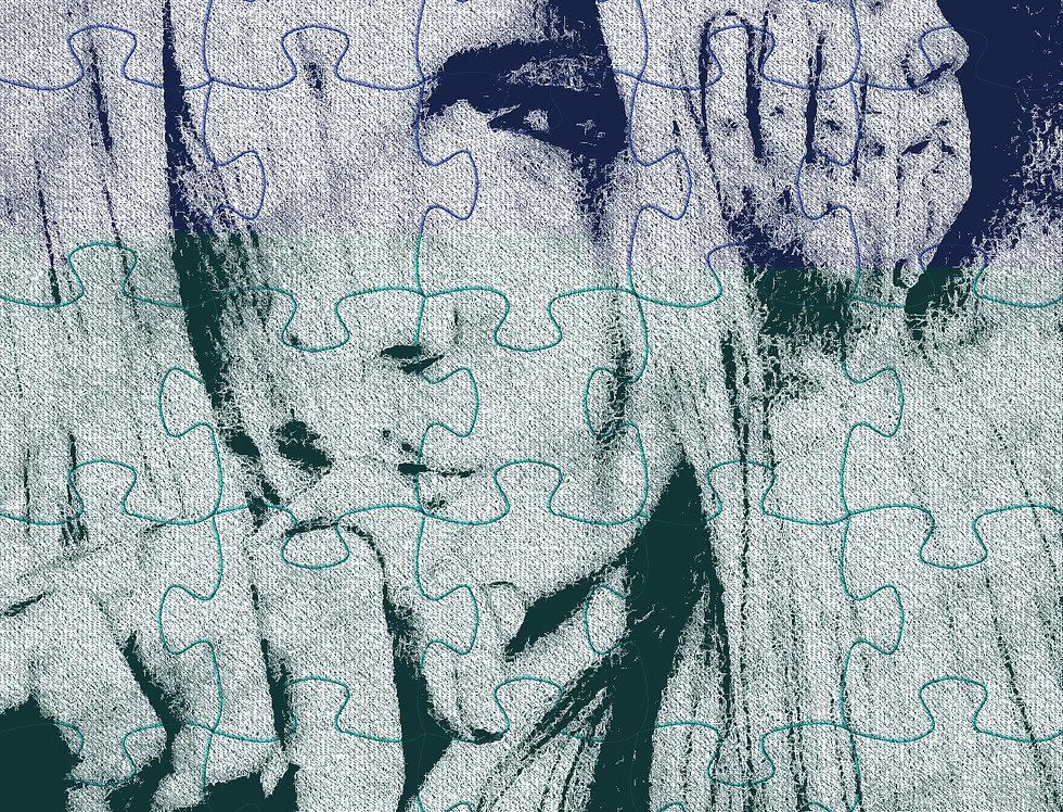 """Healing """"The Child Within"""", Puzzle, Print 