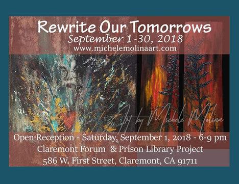"September 2018 ""Rewrite Our Tomorrows"""