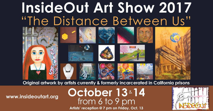 "October 2017 ""The Distance Between Us"" InsideOut Art Show"