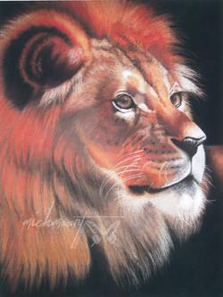 """Power & Strength"" Lion"