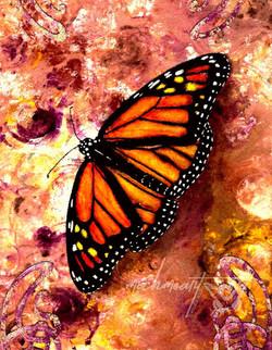 """""""Deco Monarch Butterfly"""""""