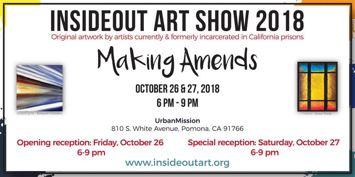 """2018 """"Making Amends"""" PVAA/InsideOut Art Show"""