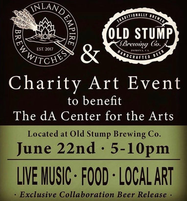 June 2019 - Inland Empire Brew Witches & Old Stump Charity Art Event