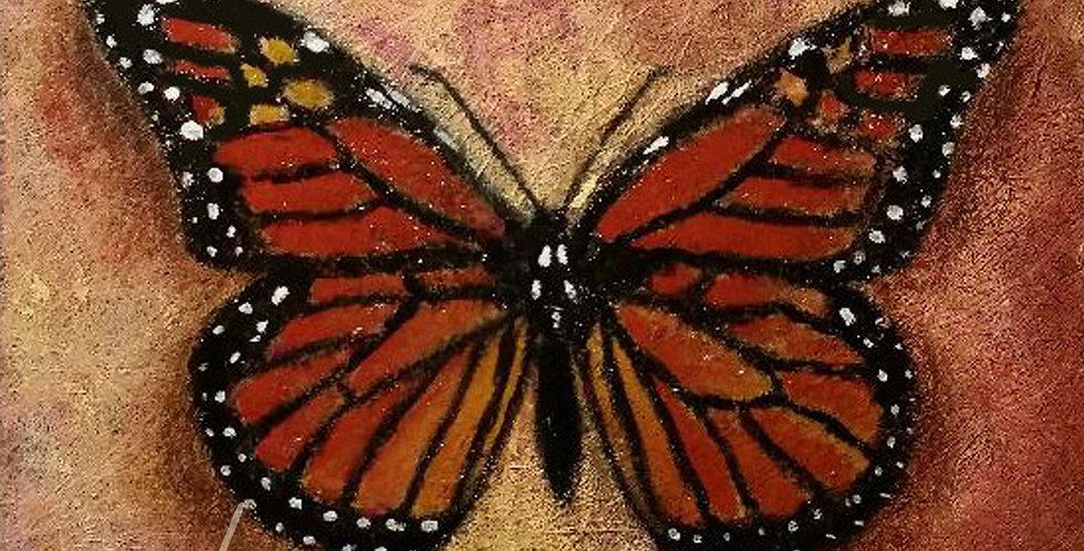 Monarch Butterfly, Digital Print