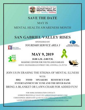 """May 2019 """"San Gabriel Valley Rises"""""""