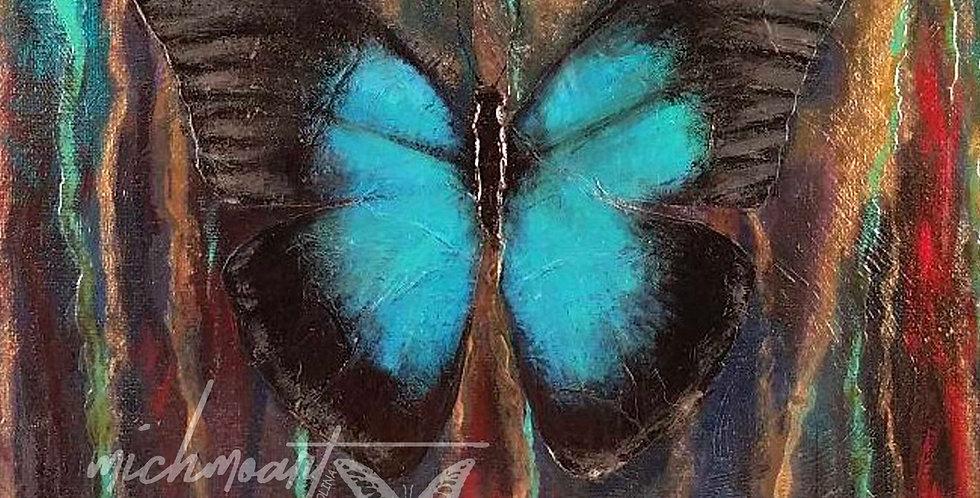 Reminisce Butterfly, Print | MichMoArt