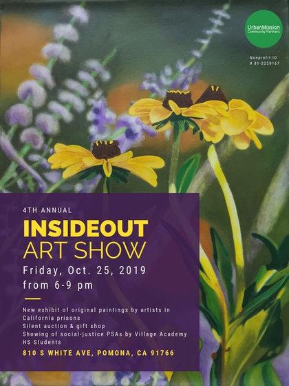 """October 2019 """"InsideOut Art Show"""""""