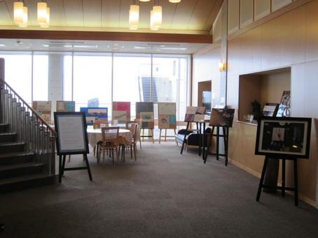 4月23日〜能登町「ラブロ恋路」にて抒情書の体験作品の展示が始まりました!