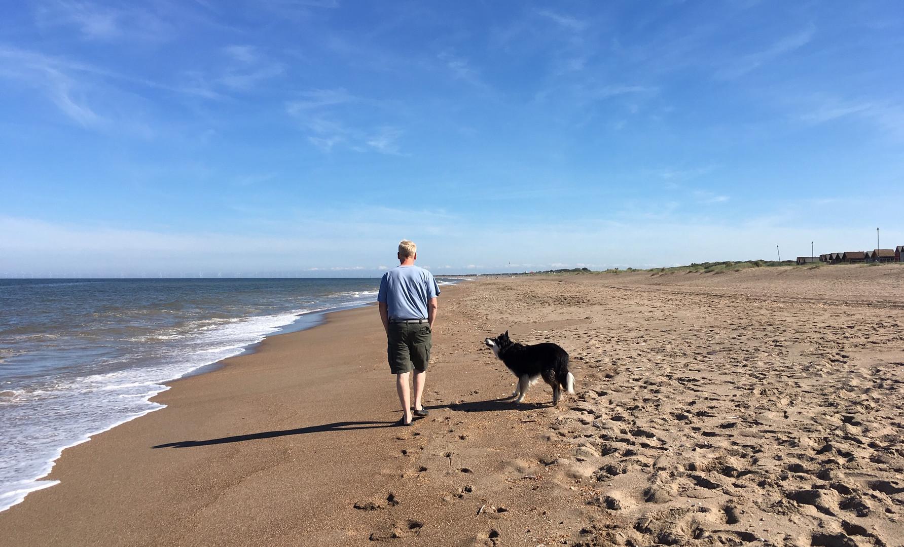 Sutton on Sea's sandy beach