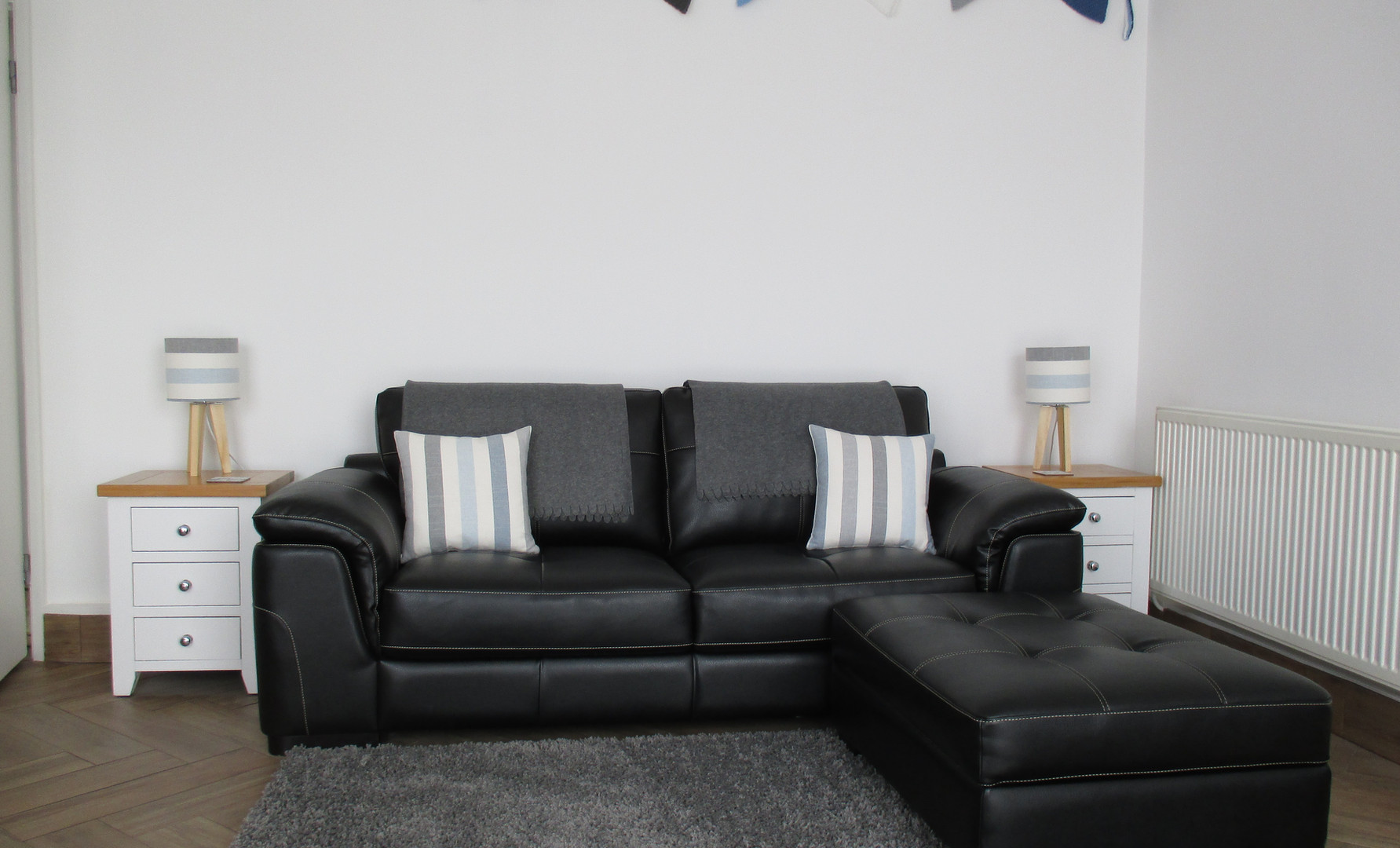 Lounge with comfy sofa
