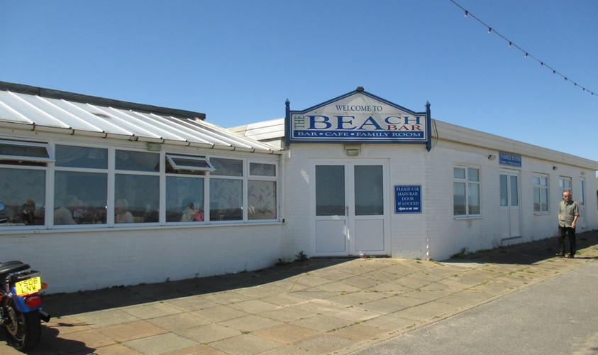 The Beach Bar on the promenade