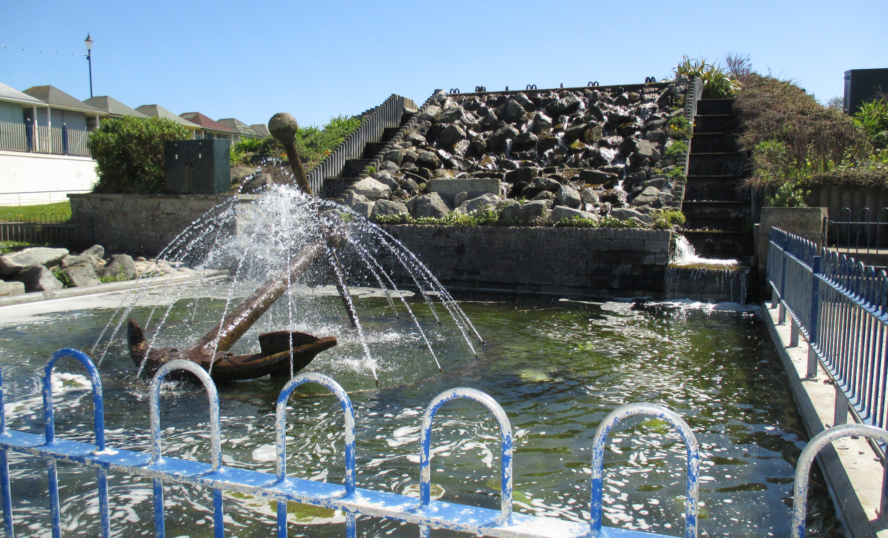 Fountain on York Road
