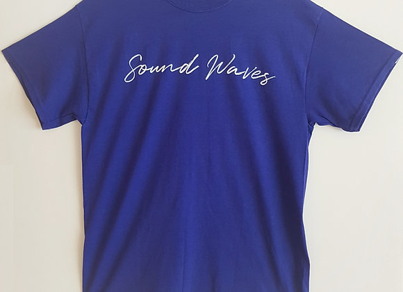 """""""Spencer Flay"""" Sound Waves T-shirt"""