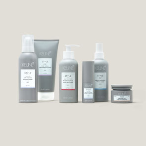 Horizontal composition of Keune haircare line