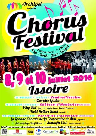 Le Sankofa-Unit traverse la France à l'occasion du Chorus Festival !