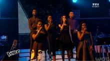 Le Sankofa UNIT & Mika à la finale de The Voice 2015