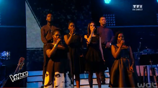 Le Sankofa UNIT & Mika à la finale de The Voice 2015