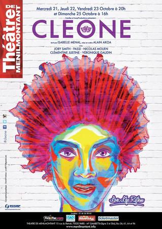 """Le Sankofa-Unit soutient l'excellente Joby Smith dans la pièce """"Cléone"""" au Théâtre de"""